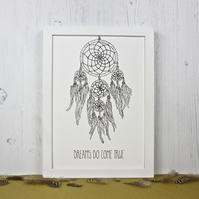 Dream Catcher Print