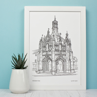 Chichester Cross Print