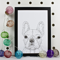 French Bulldog Pet Portrait