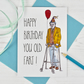 Old Fart Birthday Card