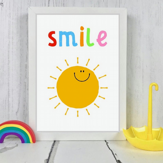 Sunshine Smile Print
