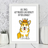 Dog Royalty Print