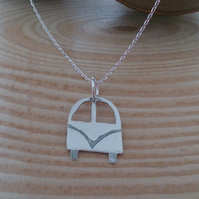 Sterling Silver Campervan Necklace
