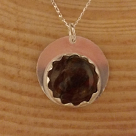Sterling Silver Pietersite Necklace