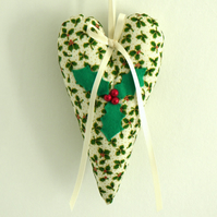 Holly Heart Decoration