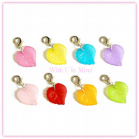 8 Leaf Stitch Markers