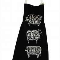 Meat Cuts Apron