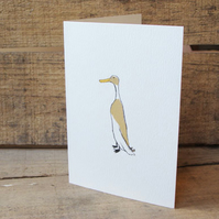 Runner Duck Card