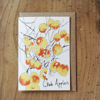Crab Apples Card