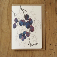Damsons Card