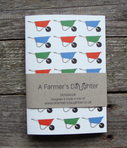 Wheelbarrows Notebook