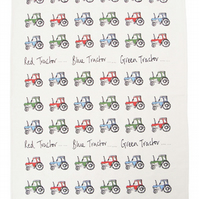 Tractors Tea Towel