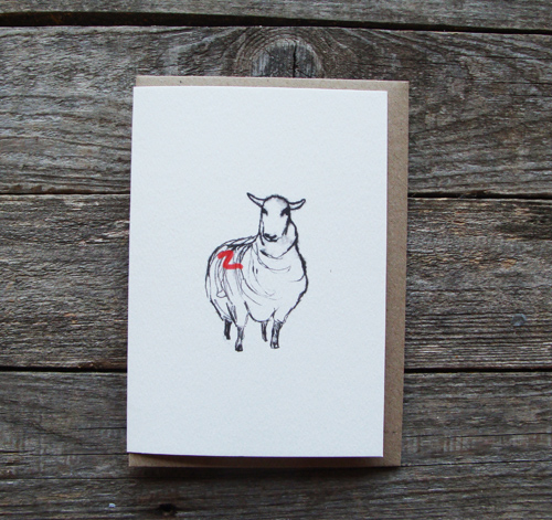 Big Sheep Card