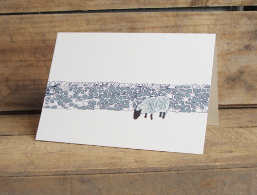 Drystone Wall Card