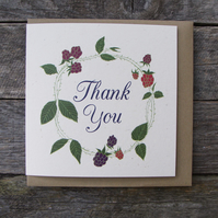 Bramble Thank You Card
