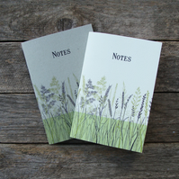 Blue Grasses Notebooks
