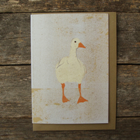 Speckled Goose Card