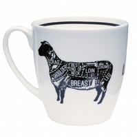 Lamb Cuts- Bone China Mug