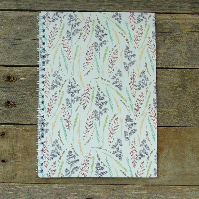 A5 Grasses Notebook