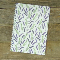 Lavender Notebook