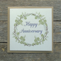 Anniversary Wreath Card