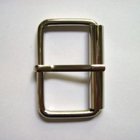 Silver buckle, 1.5""