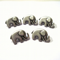 Elephant buttons 5x