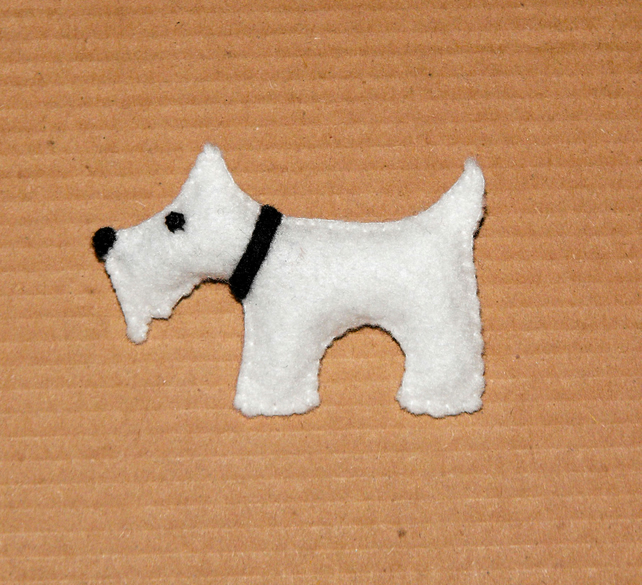 Scotty Dog Brooch