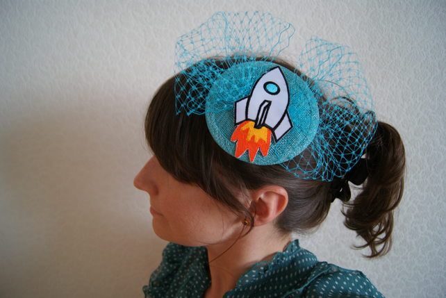 Rochet Ship Fascinator by Dita von Cheese on Folksy