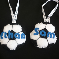 Personalised Football Door Hanger