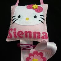 Personalised Cat Hair Clip Hanger/tidy