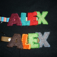 Personalised Name Keyring