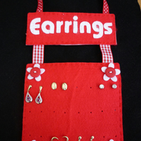 EARRING HANGING HOLDER