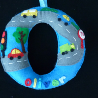 Personalised Large hanging Letter - Car Theme