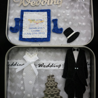 Wedding - Memory tin