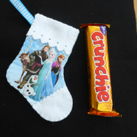 Stocking Frozen Themed Can be personalised