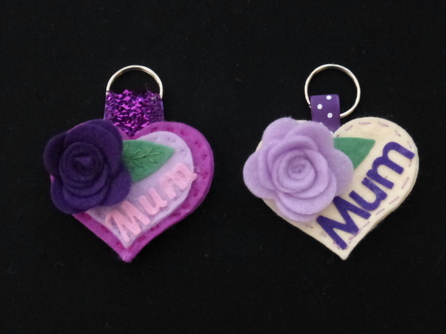 Personalised Mum keyring