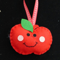 Teachers Smiley Apple Decoration