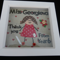 Teacher Thankyou  picture - Personalised
