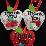 TeachersThank you Apple Decoration