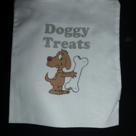 Doggy treats  Draw string bag
