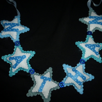 Personalised Name banner -  Stars