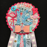 16th Birthday Age badge-Rosette Personalised