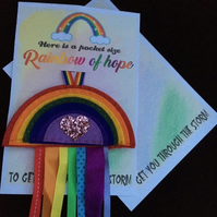 Rainbow of Hope - To get you through the storm