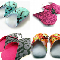 Womens Slippers - made to order