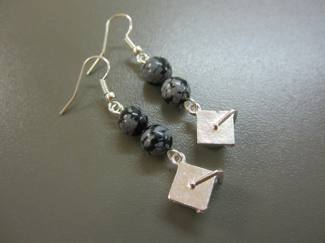 Graduation Cap Earrings