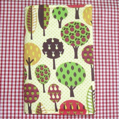 One Off Fabric Notebook Cover