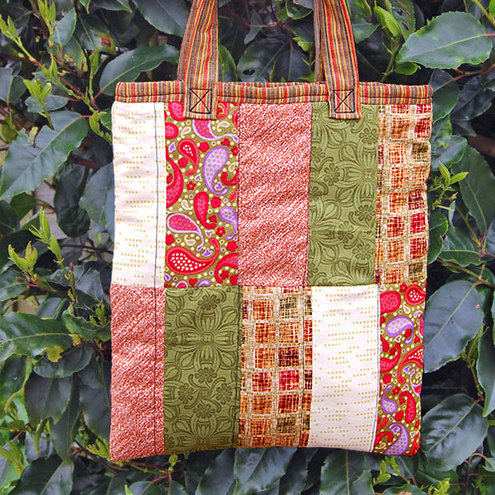 Mini Patchwork Tote