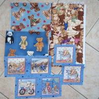 Teddy Print Fabrics DESTASH