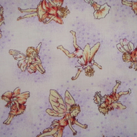 Flower Fairy  Print Fabrics DESTASH